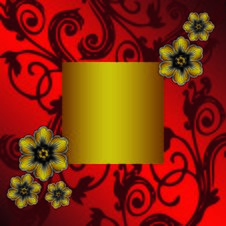 Free Vector Floral Background Royalty Free Stock Images - 6536969
