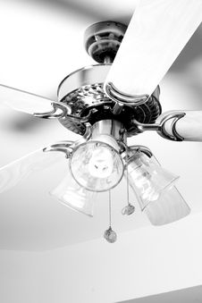 Ceiling Fan Stock Photography