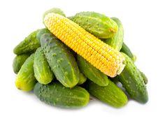Free Vegetables Corn Yellow Stock Photo - 6537240