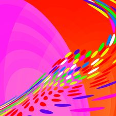 Free Abstract Background Circles Royalty Free Stock Photo - 6537365