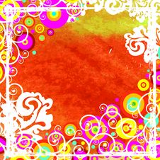 Free Vector Floral Background Stock Images - 6537504