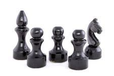 Free Black Chessman Stock Photos - 6537613