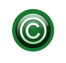 Free Coy Right Button Royalty Free Stock Images - 6537929