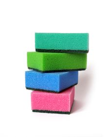 Free Colorful Sponges Royalty Free Stock Photo - 6538705