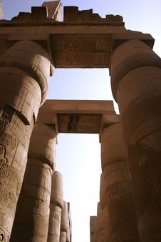 Free The Temple Of Karnak Royalty Free Stock Photo - 6539365