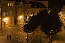 Free Prague Night Scenery Royalty Free Stock Photo - 6539655
