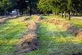 Free Freshly Mown Hay In Autumn.Rural Scene Stock Photo - 6541100
