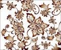 Free Ornate Golden Flower Pattern Royalty Free Stock Photo - 6542745
