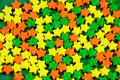 Free Colorful Candy Stars Stock Image - 6544101