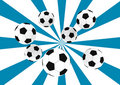 Free Soccer Balls Royalty Free Stock Photography - 6546187