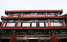Architecture Of Chinese Ancient Building Stock Images