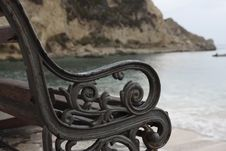 Free Beach Bench Stock Photography - 6540402