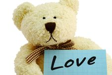 Free Teddy Love Royalty Free Stock Images - 6540629
