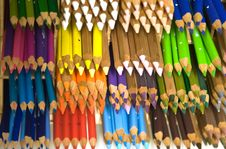 Free Color Pencils Royalty Free Stock Photography - 6540727
