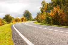 Free Autumn Road Stock Photos - 6540933
