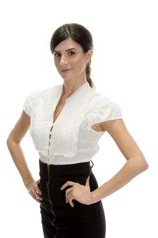 Free Posing Gorgeous Model Stock Photo - 6541330