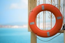 Free Orange Buoy Stock Image - 6541981