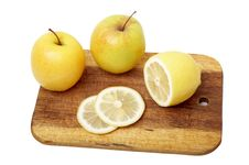 Free The Apple And Lemon Royalty Free Stock Images - 6542119