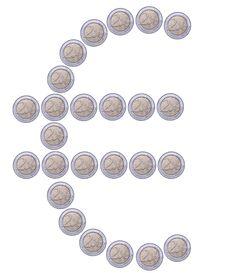 Free Euro Symbol Royalty Free Stock Image - 6542276