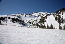Ski Slopes Stock Image