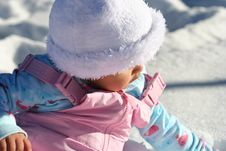 Free Snow Baby Stock Images - 6543904