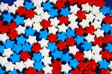 Free Colorful Candy Stars Royalty Free Stock Photo - 6544145