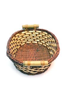 Free Wicker Basket Stock Photos - 6544203