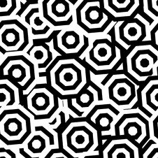 Free Seamless Circle Pattern Stock Photo - 6544350