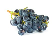 Free Blue Wine Grape, Isolated Royalty Free Stock Images - 6544369
