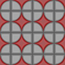 Seamless 3d Tile Pattern Royalty Free Stock Images