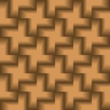 Seamless 3d Tile Pattern Stock Image