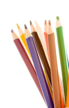 Free Crayons Royalty Free Stock Images - 6544679