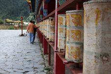 Free Gig Prayer Wheels Royalty Free Stock Photo - 6545865
