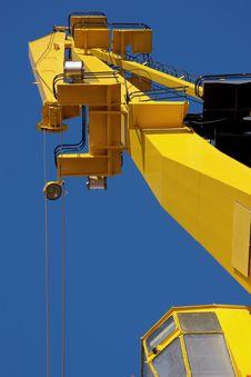 Free Old Harbor Crane Stock Images - 6545934