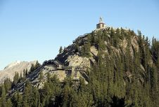 Sulphur Mountain Summit Royalty Free Stock Photography