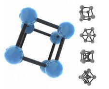 Free Isolated Molecule Stock Image - 6546491