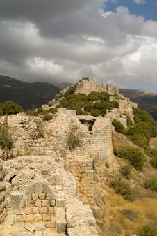 Nimrod Fortress Royalty Free Stock Photo