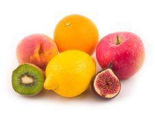Beautiful Peach Apple Fig