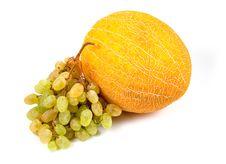 Free Fragrant Yellow Sweet Melon Royalty Free Stock Photo - 6546765