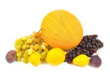 Many Tasty Fruits Royalty Free Stock Photo