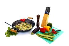 Free Preparing Wok Stock Photography - 6546932