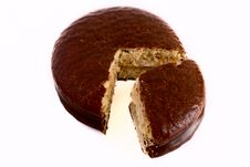 Free Cookies In Chocolate Glaze Royalty Free Stock Image - 6547916