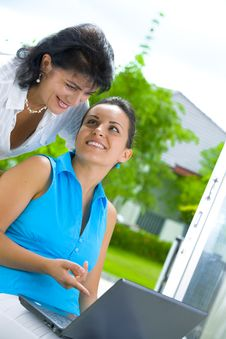 Free Two Women Royalty Free Stock Photo - 6548645