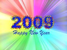 Free Happy New Year Card Stock Photo - 6548720