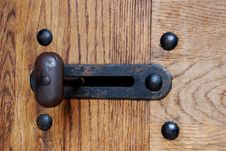 Free Old Latch Royalty Free Stock Photography - 6549297