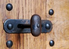 Old Latch Stock Images