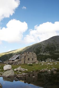 Free An Old Ruins In Rila Stock Photography - 6549762