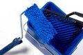 Free Blue Roller Brush, Bucket Royalty Free Stock Photography - 6551327