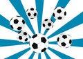 Free Soccer Balls Royalty Free Stock Photo - 6555825