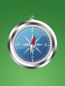Free Compass Royalty Free Stock Photography - 6550117